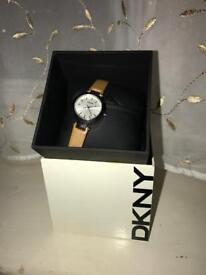 Watch Ladies DKNY Tan