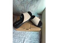 Ladies sandals -size 4