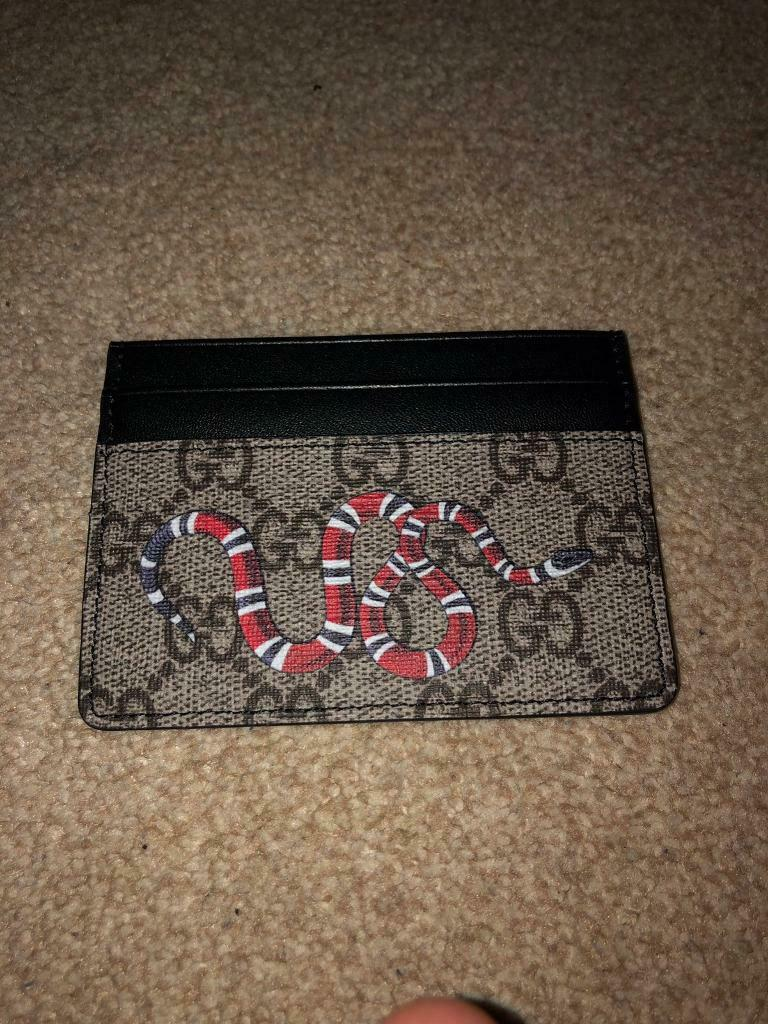 b8cd41687d317b Gucci Kingsnake Cardholder | in Birmingham City Centre, West ...