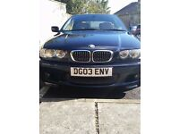 Bmw 330Ci Vert manual £2500 if gone to the end of month