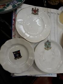China Plates - collectible Norwich. Melrose. Newcastle Upon Tyne