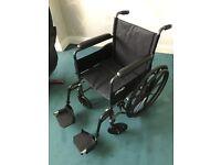 Brand new foldaway Wheelchair.