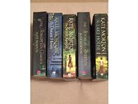 FICTION BOOK COLLECTION BY KATE MORTON, 5 TITLES (AS NEW)