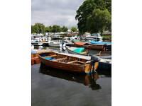 Wooden Orkney fishing boat
