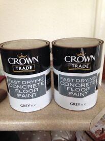 Floor paint.