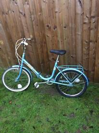 Apollo wayfarer vintage folding bike