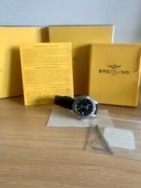 Breitling Colt Ocean Chronograph A73350 - Leather Strap - Full Papers