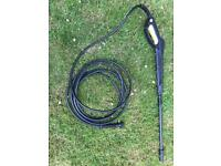 Karcher nozzle and hose