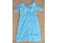 Special occasion / Mother of the bride dress in turquoise £100 or nearest offer