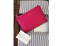 Brand New Anya Hindmarch Pink Leather Purse
