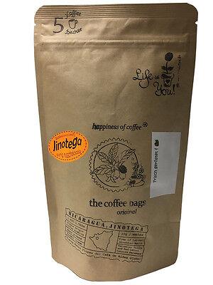 5 Coffebags a 10gr gemahlener Kaffee