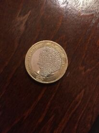 Charles Dickens 2012 £2 coin