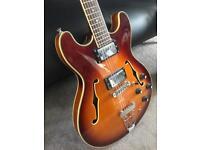 Aria pro II TA semi hollow electric guitar early Korean