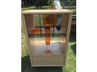 Hamster cage qute