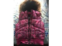 Girls gillet padded 8-9 years good condition