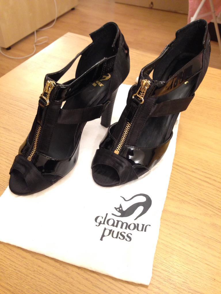 High Heels Glamour Puss with original dust bag, size US/AU 6, UK 4, EU 37