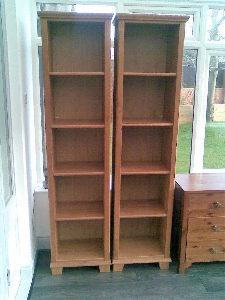 Pair Of Ikea Markor Tall Bookshelves In Somercotes Derbyshire  # Meuble Tv Ikea Markor
