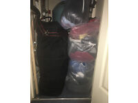 ALL IN THE BAG! NEW NEXT SUIT JACKET, HOODIES, JEANS, LEATHER SHOES ETC. New-like CONDITION, MUST GO