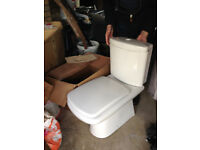 Tuscany close coupled WC and seat from Plumbworld / toilets