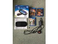 Playstation Vita & Games