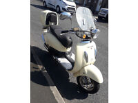 Direct bikes 125cc RETRO moped 63 plate