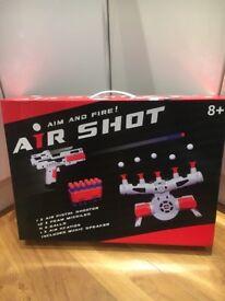 Floating air shot game