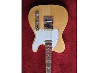 Harley Benton Telecaster style guitar