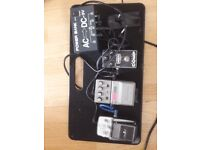 Different electric guitar accessories