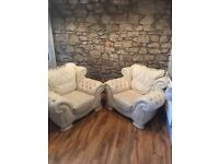 2 Chesterfield Chairs