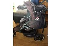 Phil and Ted sports tandem double buggy