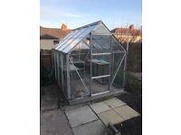8x6 glazed Greenhouse