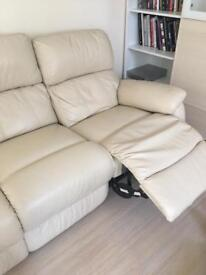 Leather sofa electric recliner and Armchair