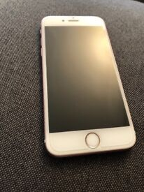 UNLOCKED ROSE GOLD IPHONE 6s. No dents, no cracks no scratches in great condition!! COLLECTION ONLY