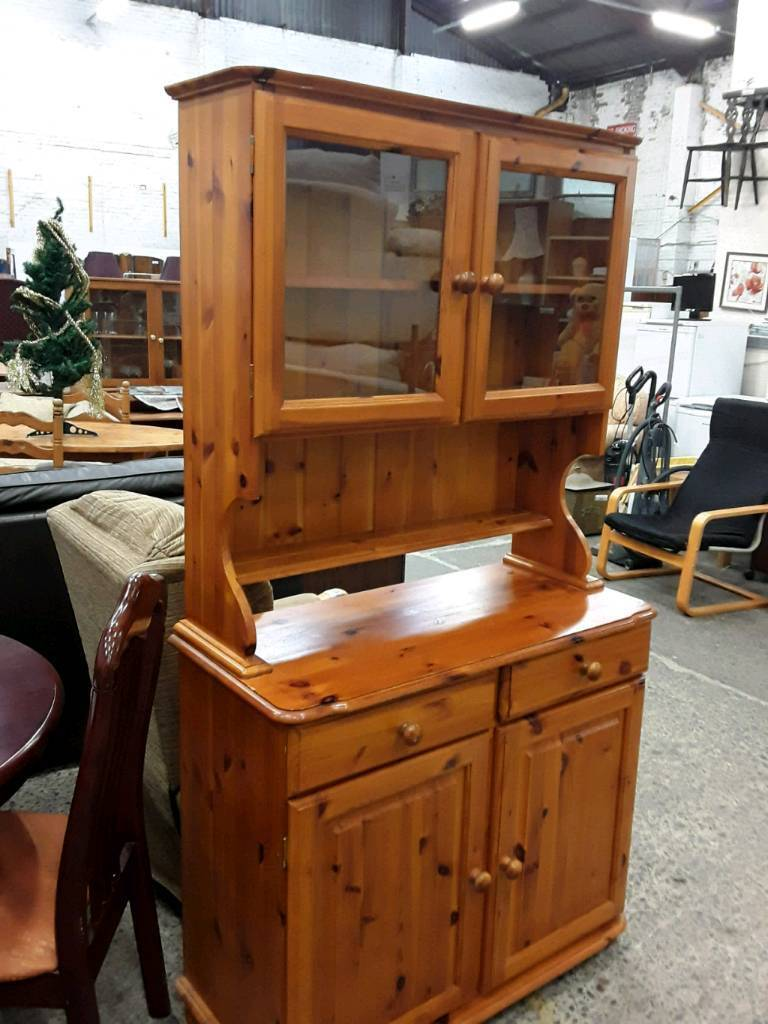 Solid Pine Mid Sized Welsh Dresser.