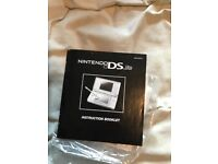 BOXED NINTENDO DS CONSOLE COMPLETE WITH ALL INSERTS AND 3 GAMES