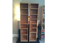 2 x Ikea BILLY Bookcases