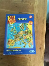 The Jig Map – Europe (200 Pieces)