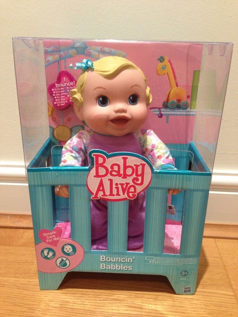 Baby Alive Bouncin' Babbles - Never opened, original package