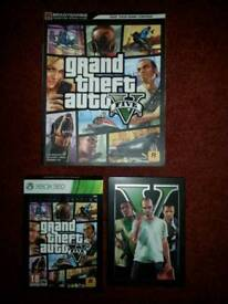 GTA V Special Edition in tin case & Player Guide