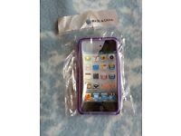 iPod Touch 4 Purple Gel Case NEW BNIB