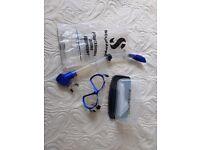 Scuba pro face mask and snorkel