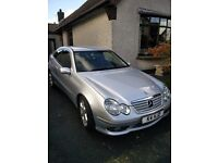 2006 MERCEDES C200 SPORTS EDITION COUPE
