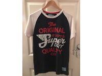 Superdry Mens T Shirt Medium