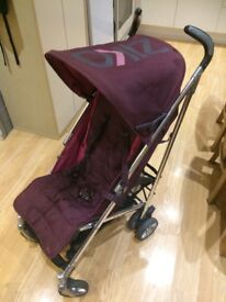 Mamas and papas buggy in pink and purple