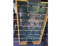 4 foot pool table/table football