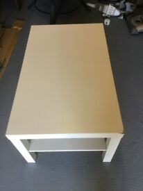White Ikea lack coffee table