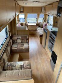 2007 6 berth Abbey Safari 540 (fixed bunk)