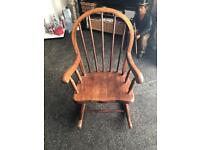 Kids rocking chair very good condition