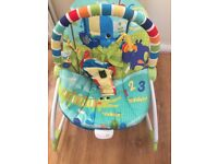 BRIGHT STARS BABY ROCKER - Sparingly used- £15