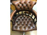 Chesterfield office swivel chair